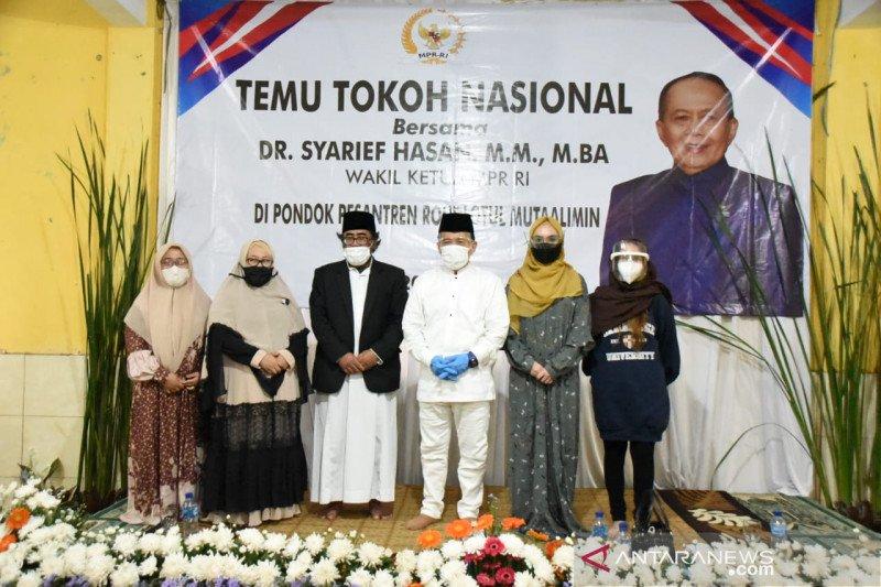 Syarief Hasan: Pesantren adalah potret kebhinnekaan Indonesia