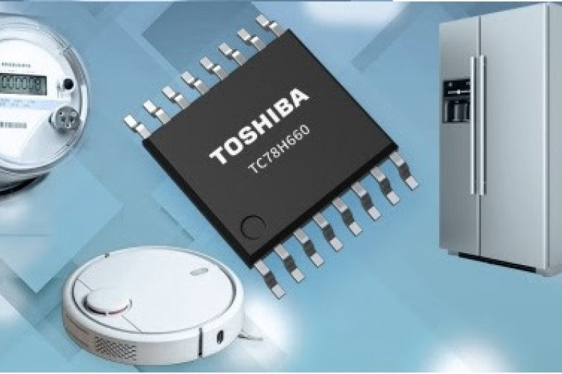 Toshiba luncurkan IC driver motor H-bridge ganda dengan kontrol PWM