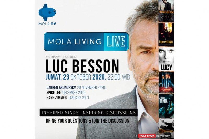 Bincang sinema bareng Luc Besson hingga Spike Lee di Mola TV
