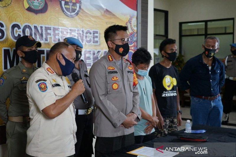 Pembuang sampah di Kalimalang Bekasi terancam penjara enam bulan