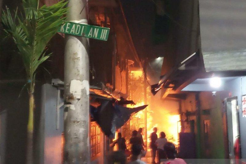 Dua perisitiwa kebakaran terjadi di Jakarta Barat