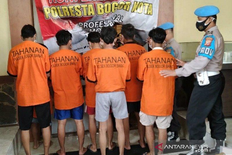 Polresta Bogor Kota amankan tujuh pelaku penyerangan warga