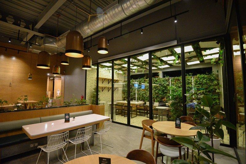 Peringati hari jadi ke-41 tahun, KFC resmikan gerai berkonsep green lifestyle