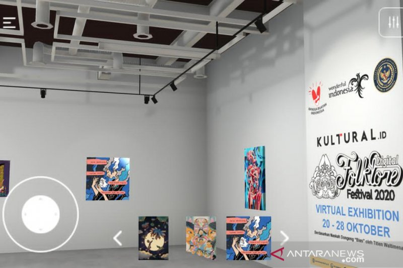 Pameran Virtual Dongeng digelar untuk lestarikan cerita rakyat