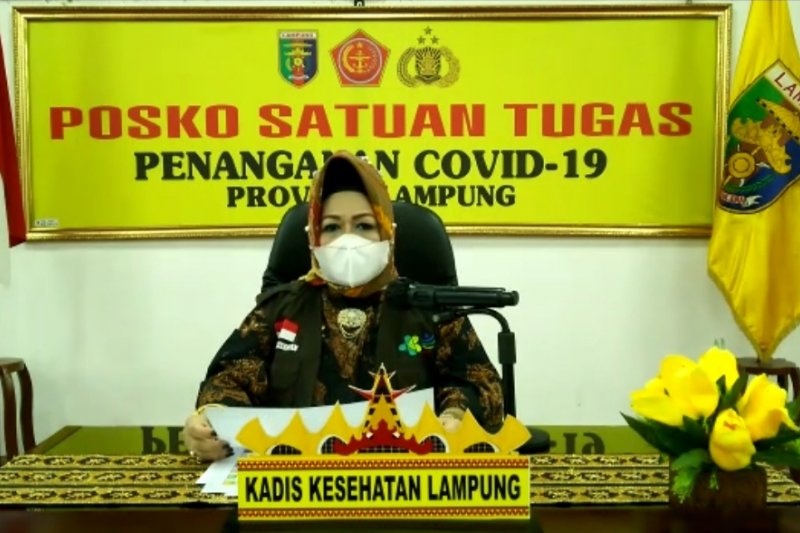 Jumlah positif COVID-19 di Lampung 1.551 kasus setelah penambahan 29