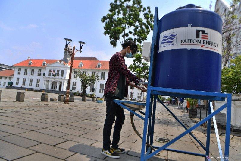 Total kasus COVID-19 Jakarta pada Sabtu (24/10) tembus 100.220
