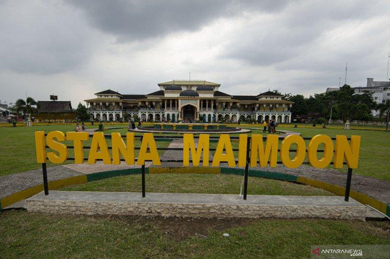 Wisata ke Istana Maimun di tengah Pandemi COVID-19