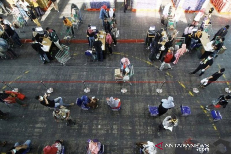 Transaksi Lumbung Pangan Jatim melalui BUMDes capai 200 kali per hari