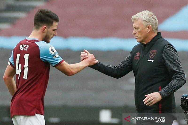 Moyes puji pertahanan West Ham saat lawan Manchester City