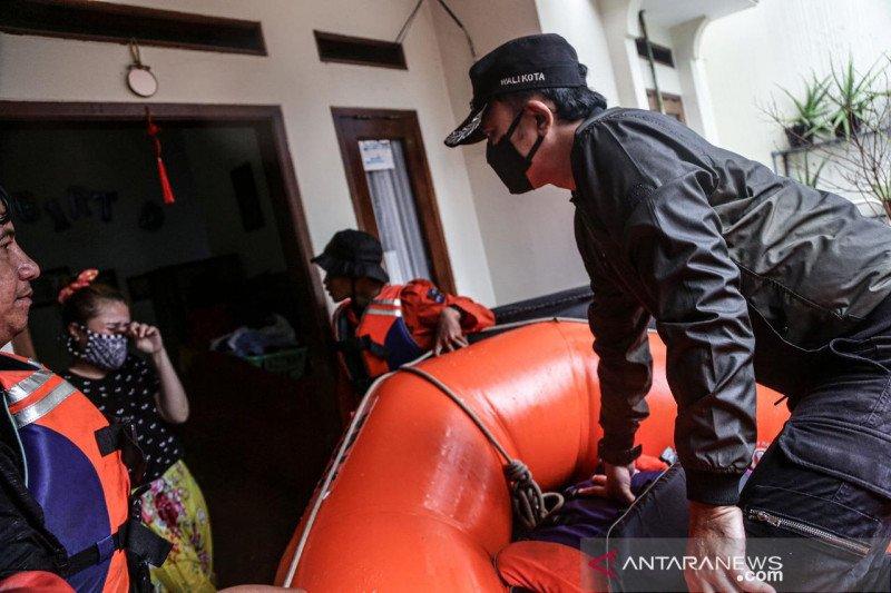 Perumahan Griya Cimanggu Indah Bogor terendam banjir