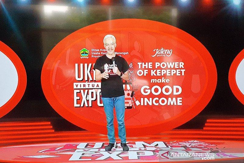 Gubernur Jateng buka UKM Virtual Expo 2020