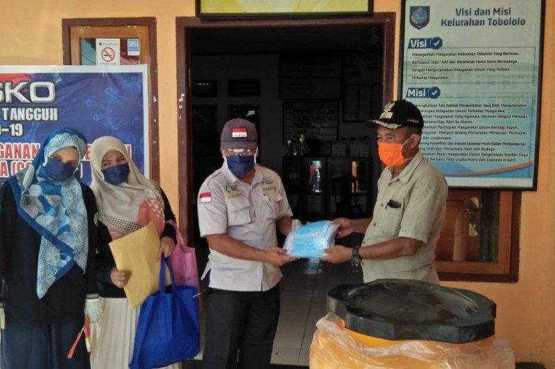 Warga Kota Ternate tidak pakai masker disanksi push up