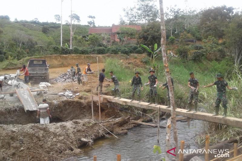 Program TMMD di Aceh bangun 6,5 kilometer jalan