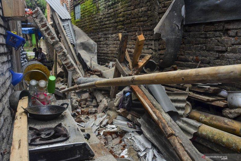 65 rumah warga di Ciamis rusak akibat gempa Pangandaran