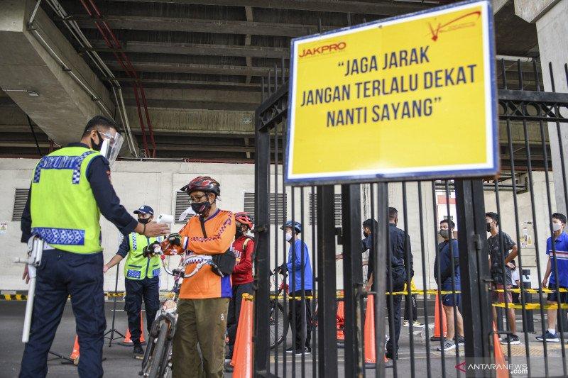 PSBB transisi DKI Jakarta diperpanjang hingga 8 November 2020