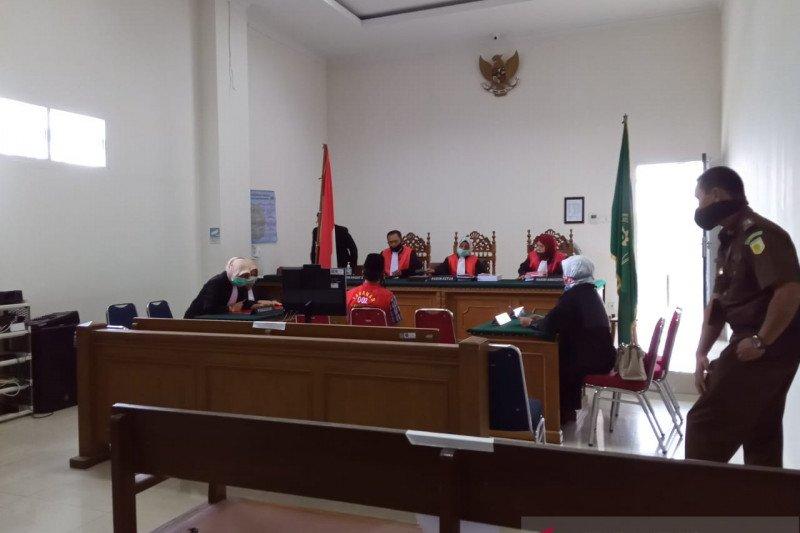 Oknum ASN jalani sidang perdana kasus penyelewengan infak Masjid Raya