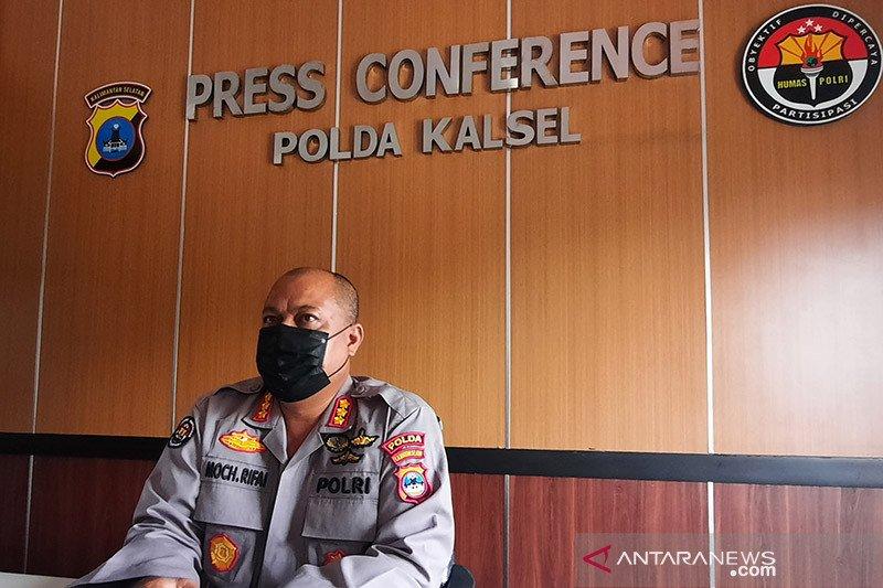 Polda Kalsel proses hukum unjuk rasa mahasiswa malam hari