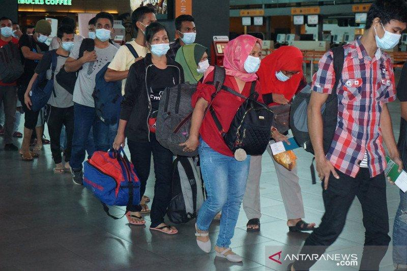 Ratusan pekerja migran ilegal dipulangkan dari Malaysia