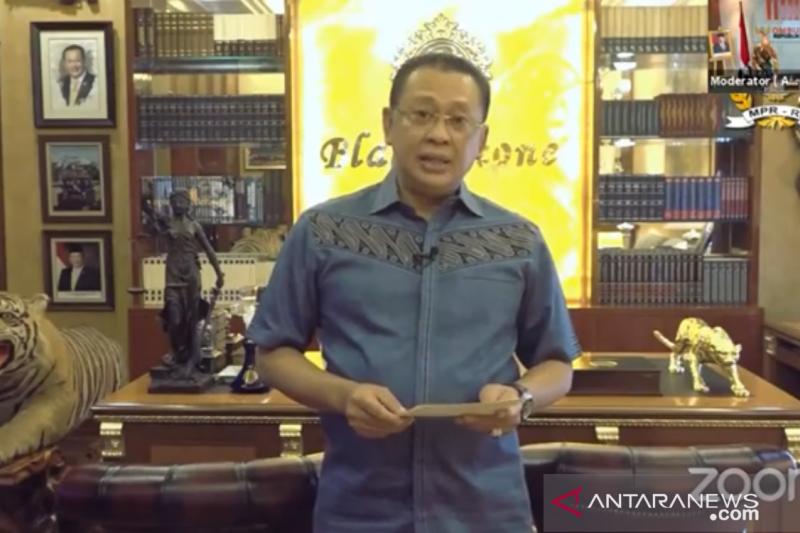 Bamsoet puisikan 'wajah Indonesia' dengan optimis