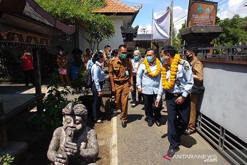 Dirjen Yankomas Ditjen HAM tinjau Posyankumhamdes di Gianyar