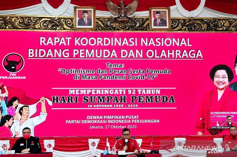 Sambut Sumpah Pemuda, PDIP Gelorakan semangat muda hadapi Covid-19