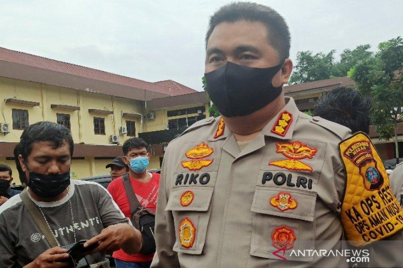 Polisi ditembak orang di Medan karena ini