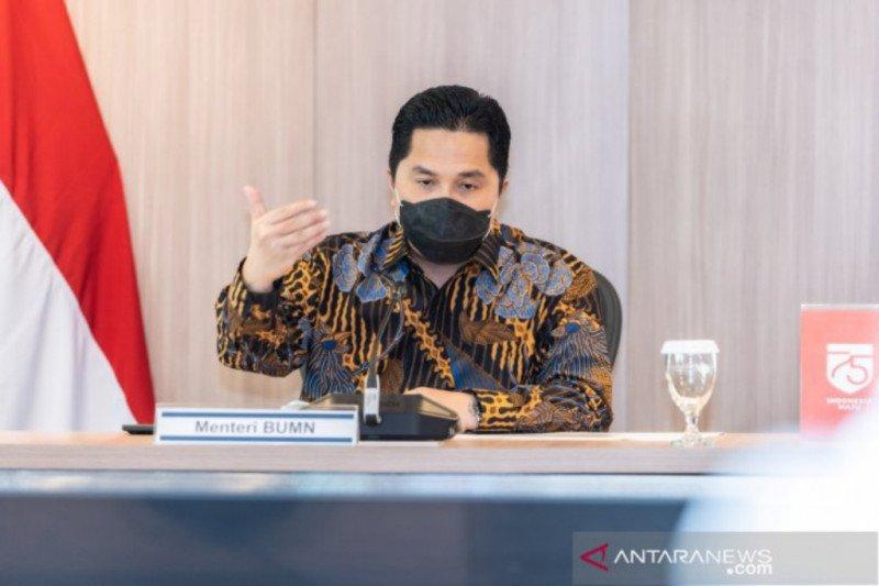Menteri Erick harap sosok Fakar jadi semangat anak muda di BUMN