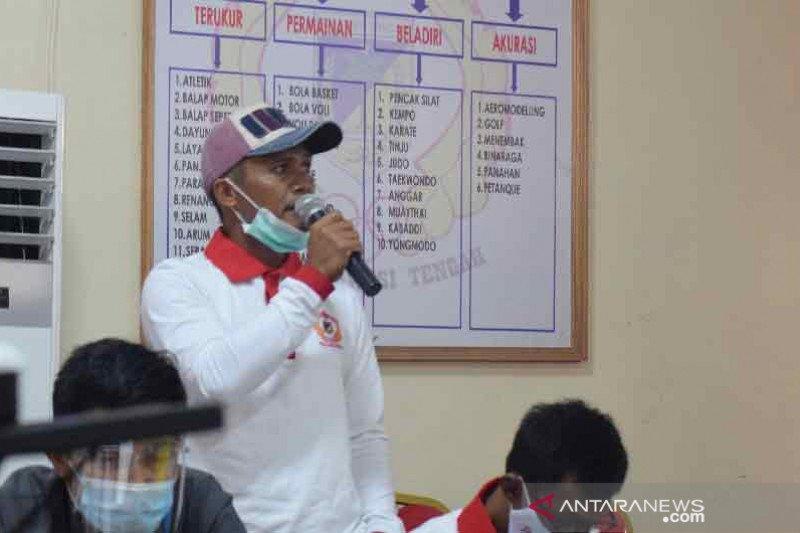 Pelatih atlet PON Sulteng minta bantuan peralatanlomba