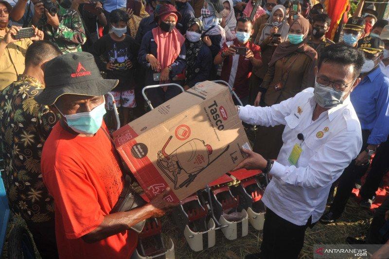 Mentan sebut pandemi refleksikan peran petani sebagai pahlawan pangan