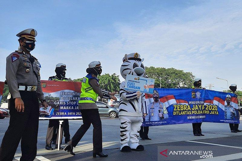 Tidak ada razia selama Operasi Zebra Jaya 2020