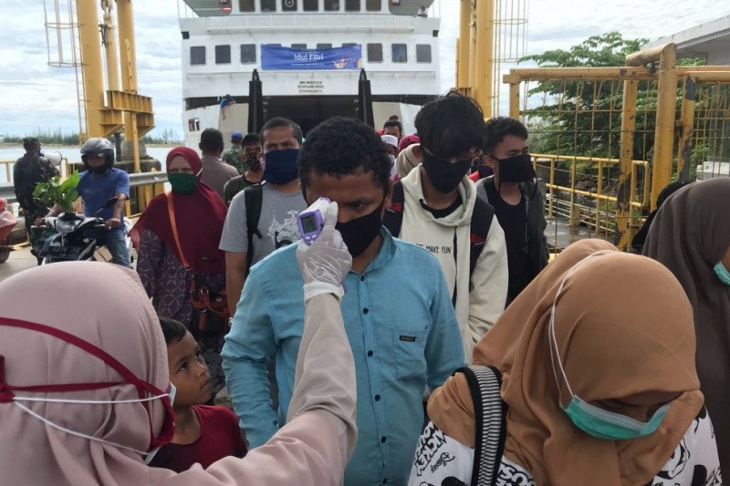 Tiga daerah di Aceh masih zona merah COVID-19
