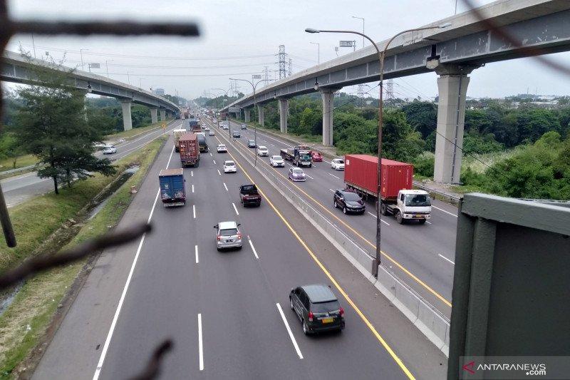 Polri: Arus lalu lintas lancar pada Kamis malam