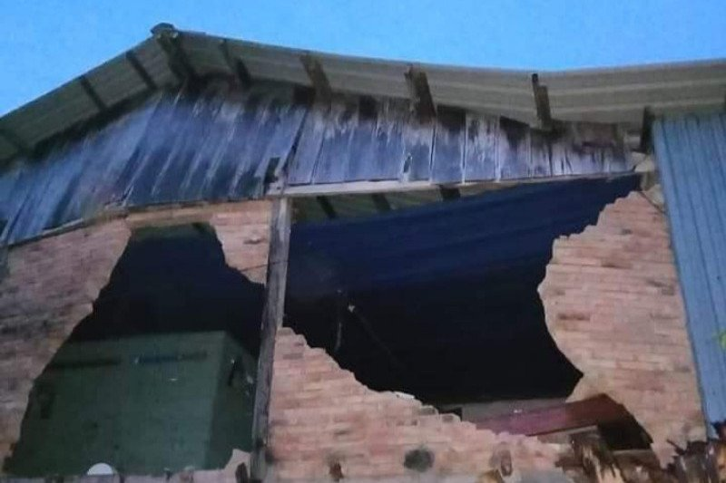 Kota Mamuju diguncang dua kali gempa