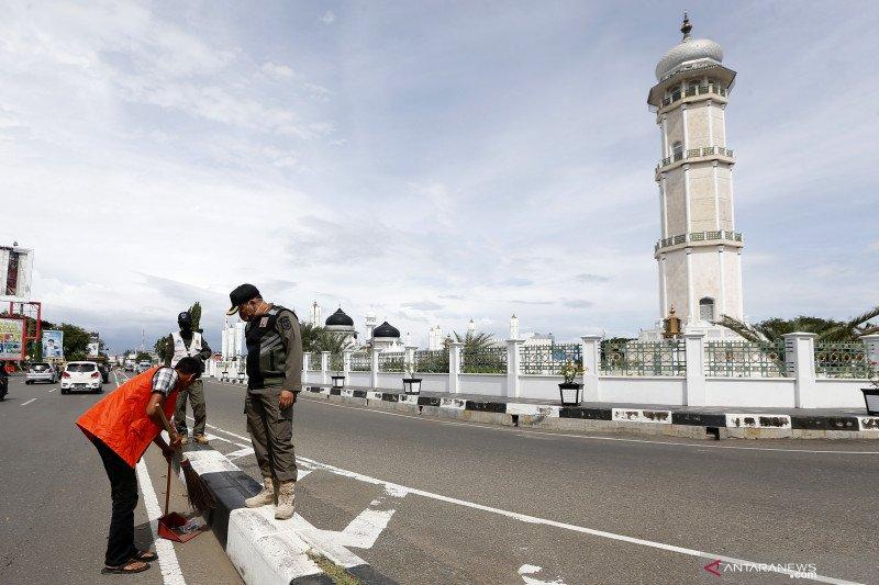 Hoaks, kepolisian gelar razia masker serentak di Indonesia