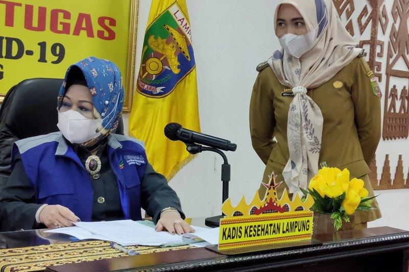 Dinkes catat pasien sembuh COVID-19 di Lampung berjumlah 1.129