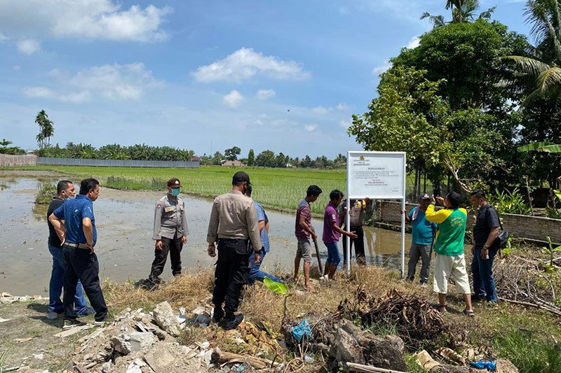 Polda Aceh sita tanah milik tersangka korupsi sertifikat aset PT KAI