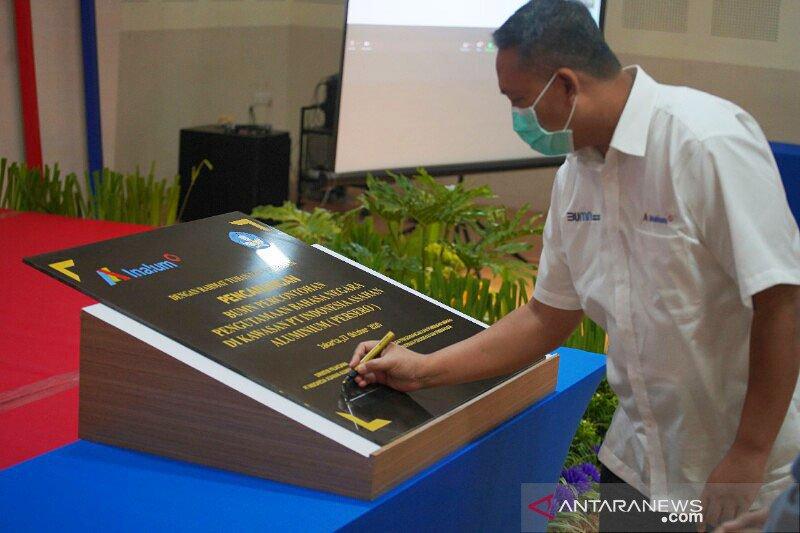 Inalum dinobatkan jadi BUMN percontohan pengutamaan Bahasa Indonesia