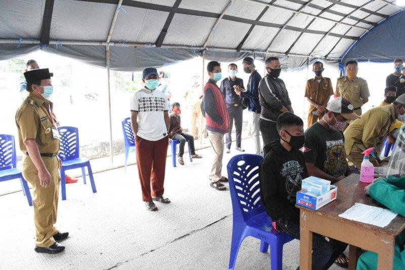 Pemkot Bandarlampung  tes cepat 2.878 orang hendak ke kota setempat