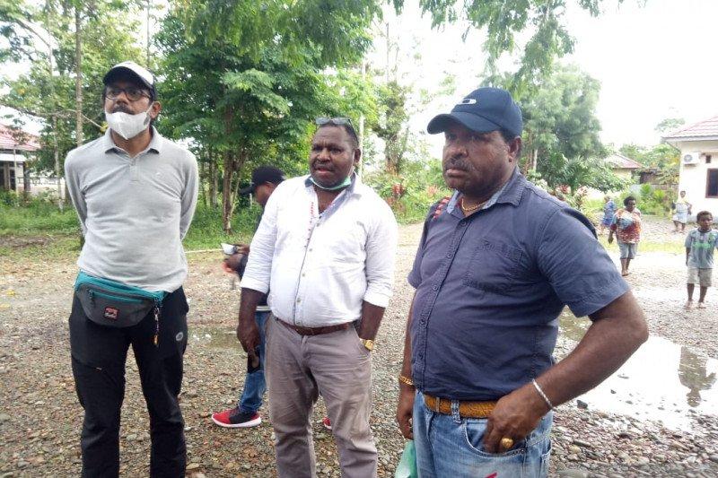 FPHS mulai data warga Banti hendak pulang kampung