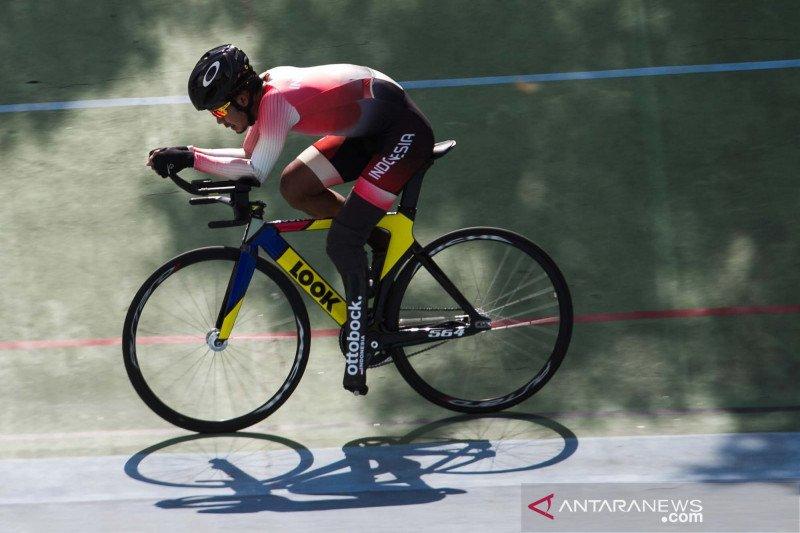 Latihan pembalap sepeda jelang paralimpiade Tokyo 2021