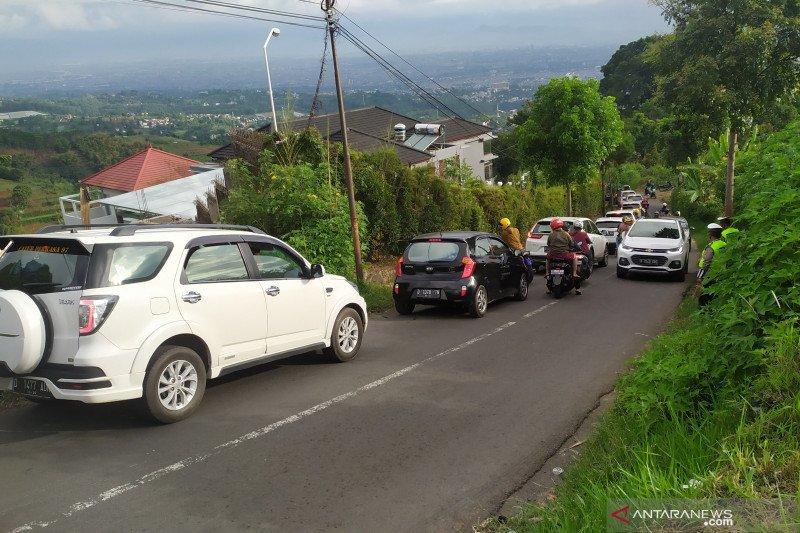 Polisi prediksi puncak arus balik wisata Lembang terjadi Sabtu malam