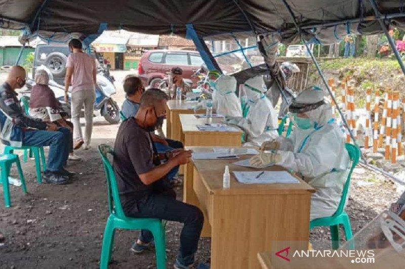 Puluhan wisatawan yang sedang berwisata di Sukabumi reaktif COVID-19