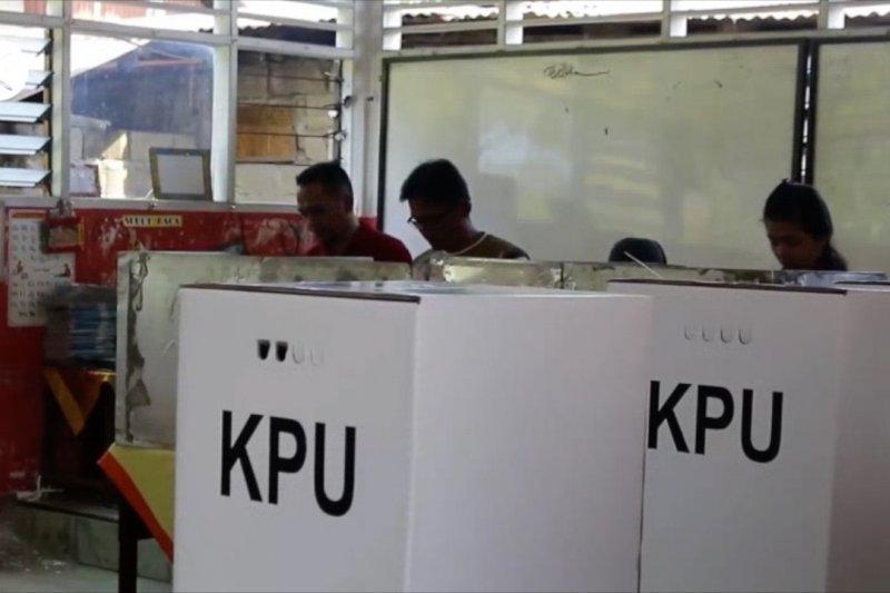 57,2 persen masyarakat memilih datang ke TPS