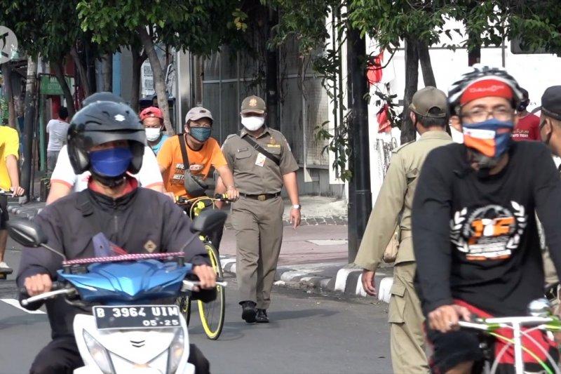 Hari ke-21 operasi yustisi, masyarakat Ibu kota semakin patuhi protokol kesehatan