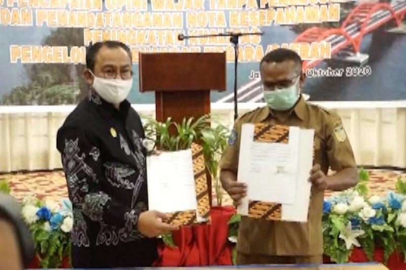 Pemprov Papua dan 17 pemerintah kabupaten/kota raih opini WTP