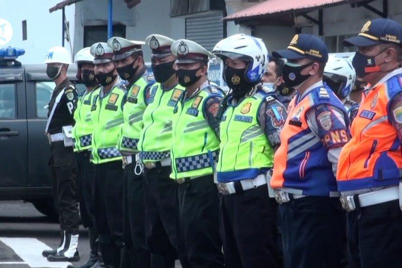 Sasar parkir liar, tim gabungan operasi penertiban lalindi Bandung