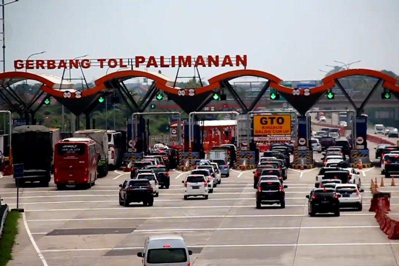 Pantauan lalu lintas di Cipali pada libur panjang