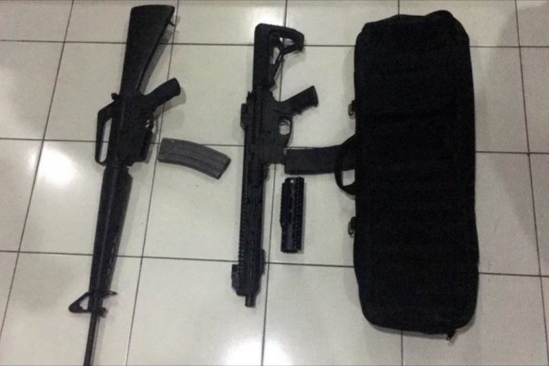 Tim gabungangagalkan jual beli senapan serbu di Nabire Papua
