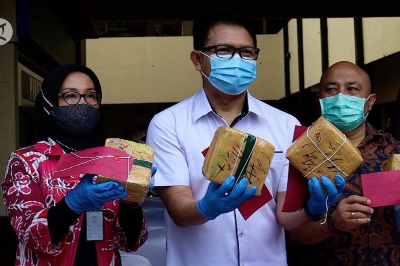 Ditresnarkoba dan BNNP Kalbar gagalkan penyelundupan narkoba lintas negara
