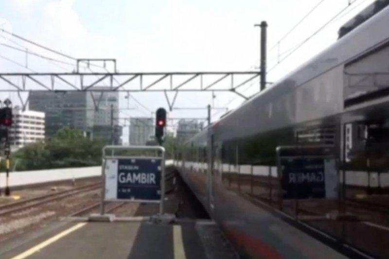 Sebanyak 30.470 penumpang kereta berangkat dari Jakarta